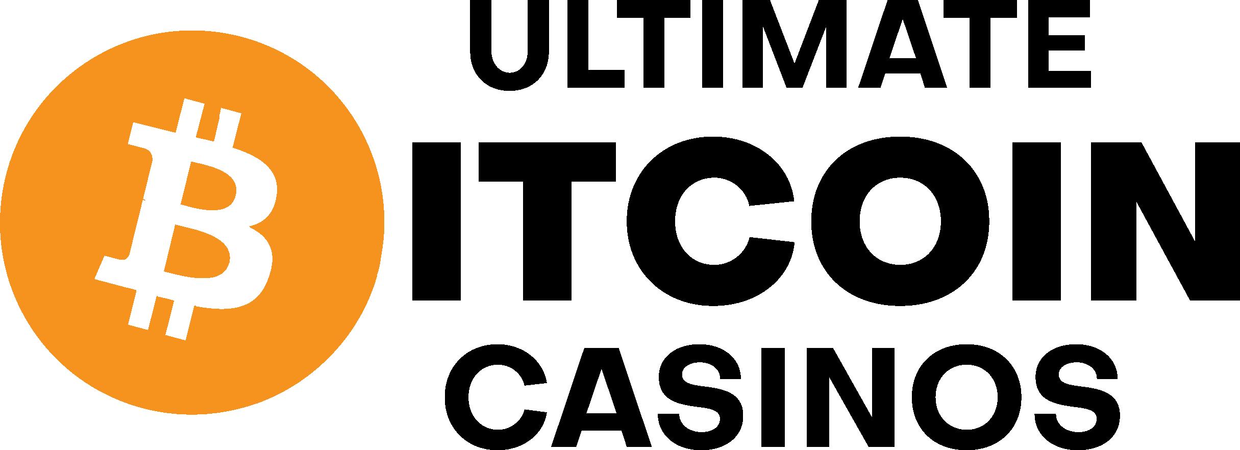 Ultimate Bitcoin casino logo