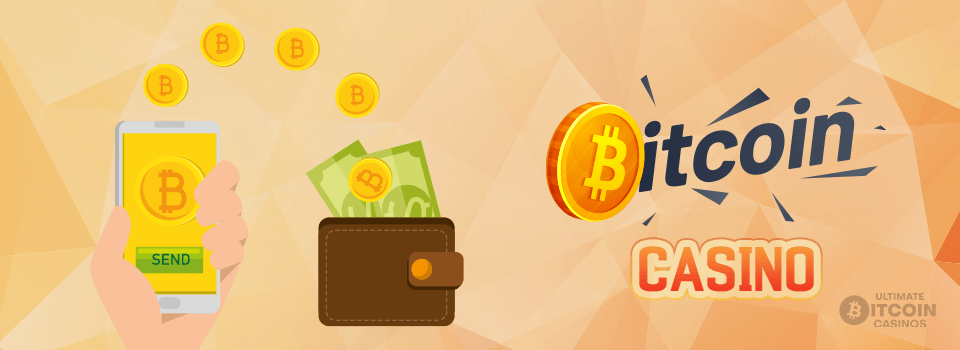 Bitcoin casino logo